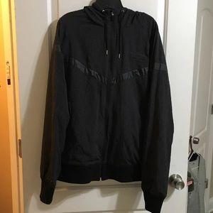 Nike mesh lined hooded jacket